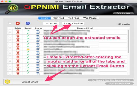 Appnimi Email Extractor 5