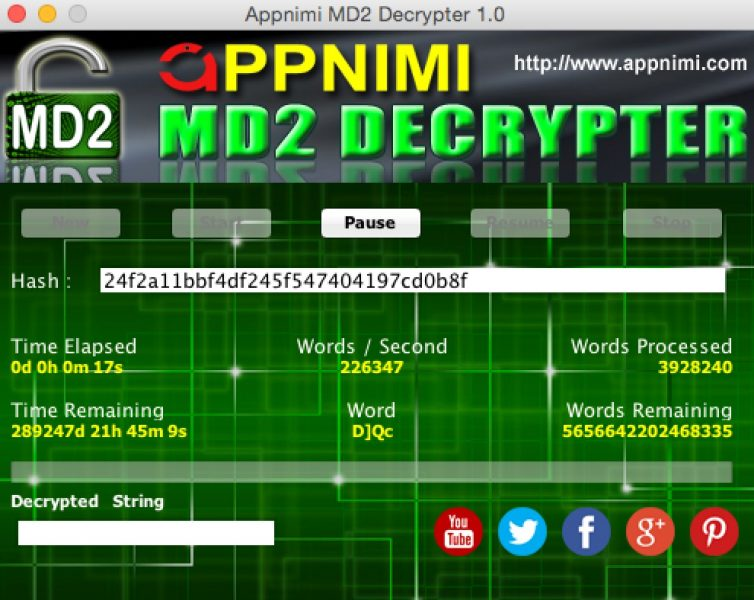 appnimi md2 decrypter for mac - decrypting
